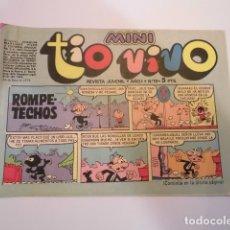 Tebeos: MINI TIO VIVO - NUMERO 19 - EDITORIAL BRUGUERA - 1975. Lote 170359880
