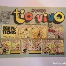 Tebeos: MINI TIO VIVO - NUMERO 6 - EDITORIAL BRUGUERA - 1975. Lote 170359936