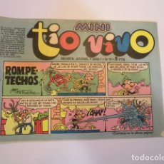 Tebeos: MINI TIO VIVO - NUMERO 11 - EDITORIAL BRUGUERA - 1975. Lote 170360028