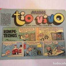 Tebeos: MINI TIO VIVO - NUMERO 14 - EDITORIAL BRUGUERA - 1975. Lote 170360084