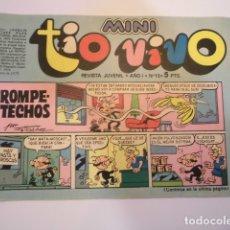 Tebeos: MINI TIO VIVO - NUMERO 13 - EDITORIAL BRUGUERA - 1975. Lote 170360160