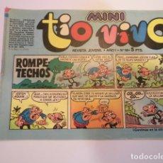 Tebeos: MINI TIO VIVO - NUMERO 16 - EDITORIAL BRUGUERA - 1975. Lote 170360208