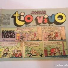 Tebeos: MINI TIO VIVO - NUMERO 8 - EDITORIAL BRUGUERA - 1975. Lote 170360252