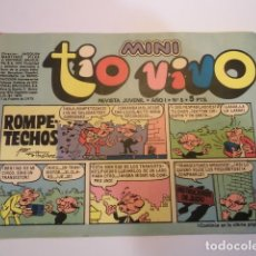 Tebeos: MINI TIO VIVO - NUMERO 5 - EDITORIAL BRUGUERA - 1975. Lote 170360324