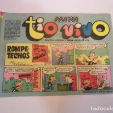 Tebeos: MINI TIO VIVO - NUMERO 12 - EDITORIAL BRUGUERA - 1975. Lote 170360692