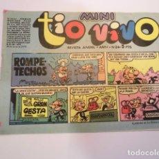 Tebeos: MINI TIO VIVO - NUMERO 24 - EDITORIAL BRUGUERA - 1975. Lote 170360800