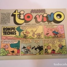 Tebeos: MINI TIO VIVO - NUMERO 21 - EDITORIAL BRUGUERA - 1975. Lote 170360880