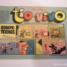 Tebeos: MINI TIO VIVO - NUMERO 2 - EDITORIAL BRUGUERA - 1975. Lote 170360940
