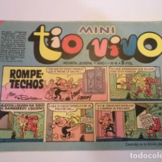 Tebeos: MINI TIO VIVO - NUMERO 4 - EDITORIAL BRUGUERA - 1975. Lote 170361024