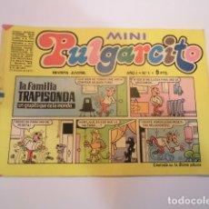 Tebeos: MINI PULGARCITO - NUMERO 1 - EDITORIAL BRUGUERA - 1975. Lote 170361340