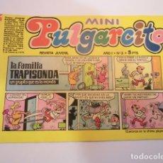 Tebeos: MINI PULGARCITO - NUMERO 3 - EDITORIAL BRUGUERA - 1975. Lote 170361396