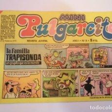 Tebeos: MINI PULGARCITO - NUMERO 5 - EDITORIAL BRUGUERA - 1975. Lote 170361452