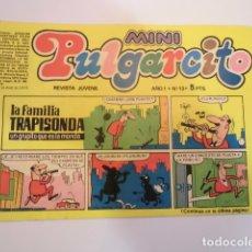 Tebeos: MINI PULGARCITO - NUMERO 13 - EDITORIAL BRUGUERA - 1975. Lote 170361648