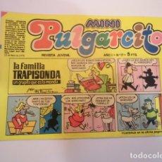 Tebeos: MINI PULGARCITO - NUMERO 17 - EDITORIAL BRUGUERA - 1975. Lote 170361752