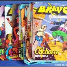 Tebeos: LOTE 18 TEBEO COMICS BRAVO EL CACHORRO EDITORIAL BRUGUERA . Lote 170367180