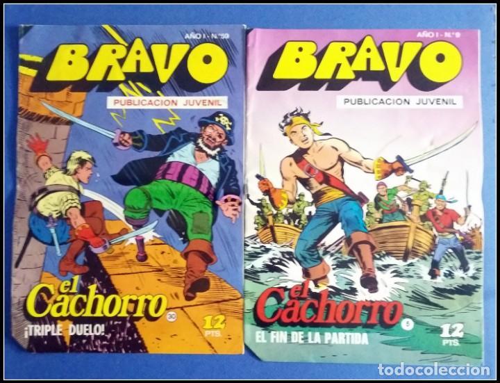 Tebeos: LOTE 18 TEBEO COMICS BRAVO EL CACHORRO EDITORIAL BRUGUERA - Foto 2 - 170367180