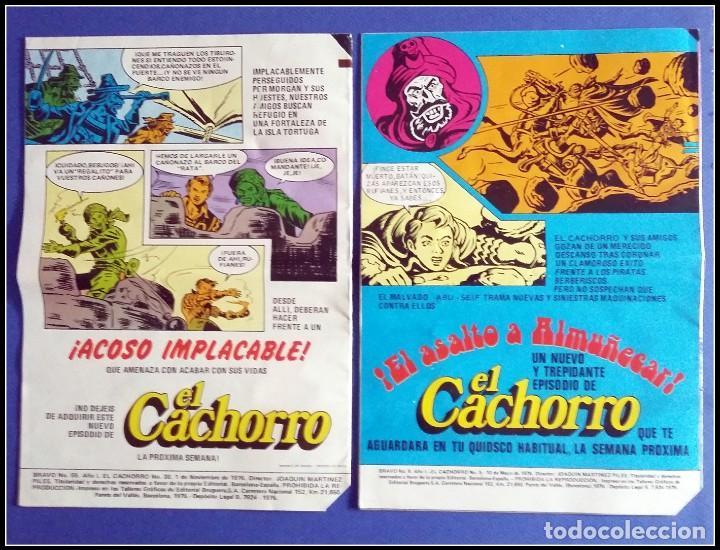Tebeos: LOTE 18 TEBEO COMICS BRAVO EL CACHORRO EDITORIAL BRUGUERA - Foto 3 - 170367180
