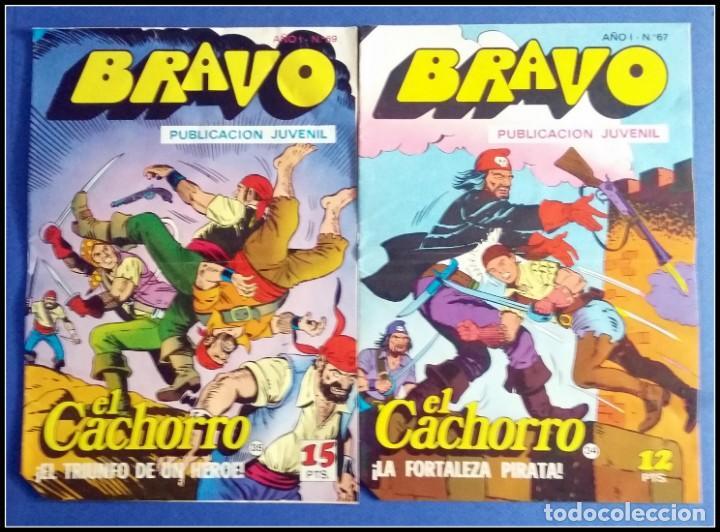 Tebeos: LOTE 18 TEBEO COMICS BRAVO EL CACHORRO EDITORIAL BRUGUERA - Foto 4 - 170367180