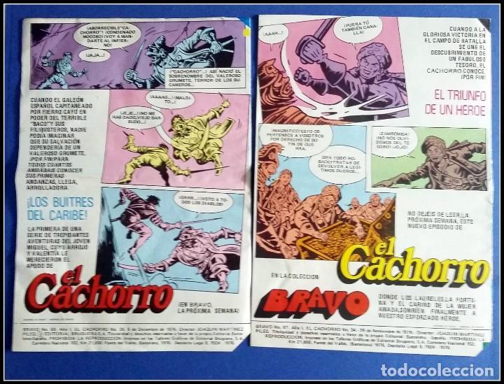 Tebeos: LOTE 18 TEBEO COMICS BRAVO EL CACHORRO EDITORIAL BRUGUERA - Foto 5 - 170367180