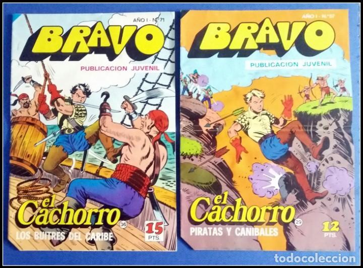 Tebeos: LOTE 18 TEBEO COMICS BRAVO EL CACHORRO EDITORIAL BRUGUERA - Foto 8 - 170367180