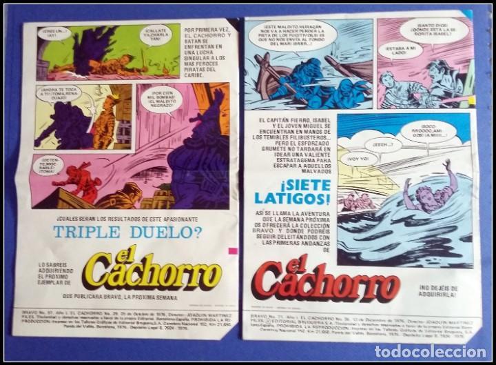 Tebeos: LOTE 18 TEBEO COMICS BRAVO EL CACHORRO EDITORIAL BRUGUERA - Foto 9 - 170367180