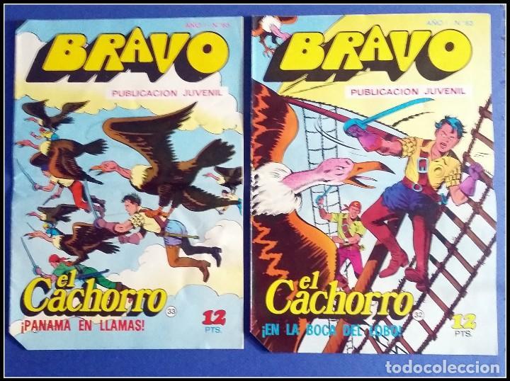 Tebeos: LOTE 18 TEBEO COMICS BRAVO EL CACHORRO EDITORIAL BRUGUERA - Foto 10 - 170367180