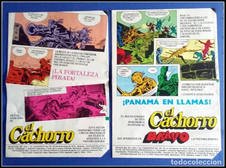 Tebeos: LOTE 18 TEBEO COMICS BRAVO EL CACHORRO EDITORIAL BRUGUERA - Foto 11 - 170367180