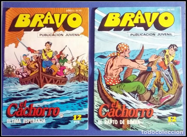 Tebeos: LOTE 18 TEBEO COMICS BRAVO EL CACHORRO EDITORIAL BRUGUERA - Foto 12 - 170367180