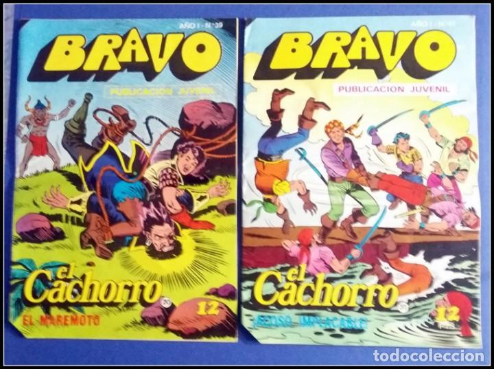 Tebeos: LOTE 18 TEBEO COMICS BRAVO EL CACHORRO EDITORIAL BRUGUERA - Foto 14 - 170367180