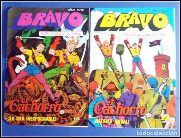 Tebeos: LOTE 18 TEBEO COMICS BRAVO EL CACHORRO EDITORIAL BRUGUERA - Foto 16 - 170367180
