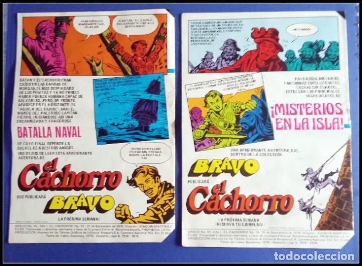 Tebeos: LOTE 18 TEBEO COMICS BRAVO EL CACHORRO EDITORIAL BRUGUERA - Foto 17 - 170367180