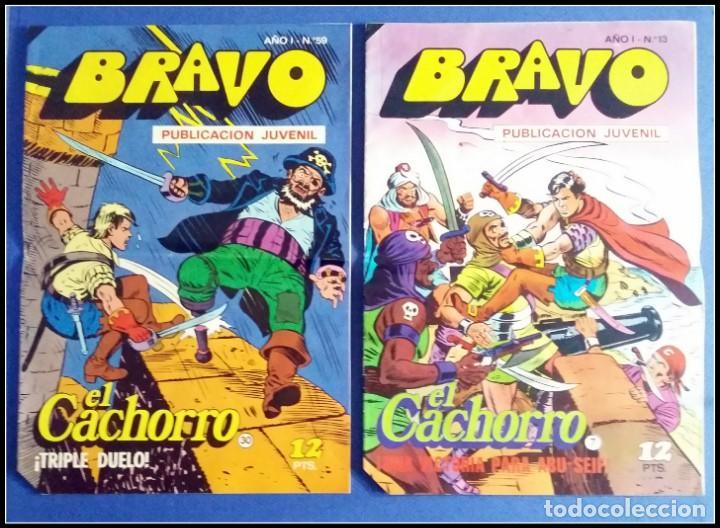 Tebeos: LOTE 18 TEBEO COMICS BRAVO EL CACHORRO EDITORIAL BRUGUERA - Foto 18 - 170367180
