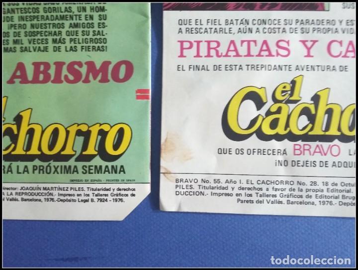 Tebeos: LOTE 18 TEBEO COMICS BRAVO EL CACHORRO EDITORIAL BRUGUERA - Foto 21 - 170367180