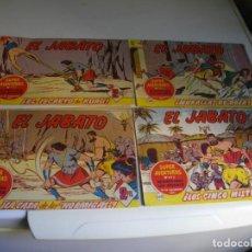 Tebeos: LOTE DE 45 TEBEOS ORIGINALES AÑOS 60 -JABATO -LOS DE LAS FOTOS VER TODOS MIS TEBEOS. Lote 170412984