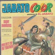 Tebeos: JABATO COLOR Nº 11. Lote 170661520