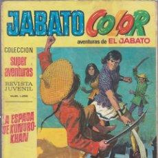 Tebeos: JABATO COLOR Nº 38. Lote 170671475