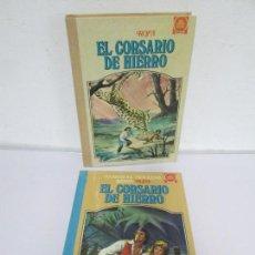 Tebeos: EL CORSARIO DE HIERRO.TEMA I-II. EDITORIAL BRUGUERA. 1978. VER FOTOGRAFIA ADJUNTAS. Lote 170746245