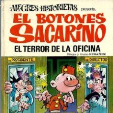 Tebeos: ALEGRES HISTORIETAS Nº 12 - EL BOTONES SACARINO - EL TERROR DE LA OFICINA - BRUGUERA 1971 - VER DESC. Lote 170876475