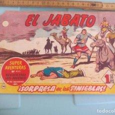 Tebeos: EL JABATO. Nº 455. 141. SORPRESA EN LAS TIENEBLAS. EDITORIAL BRUGUERA 1961. Lote 170919325