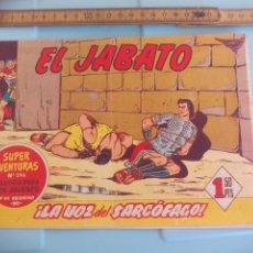 Tebeos: EL JABATO. Nº 296, 88, LA VOZ DEL SARCOGAGO. EDITORIAL BRUGUERA 1960. Lote 170919605