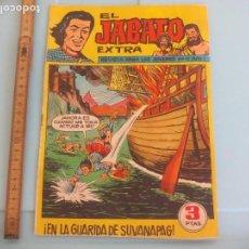 Tebeos: EL JABATO EXTRA, Nº 17 EN LA GUARIDA DE SUVANAPAG. 1962. ORIGINAL. EDITORIAL BRUGUERA. Lote 170933320