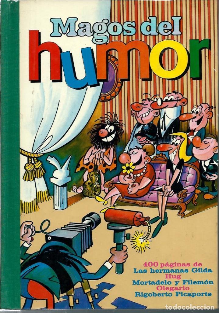 Tebeos: MAGOS DEL HUMOR - TOMOS I A XXI COLECCION COMPLETA - BRUGUERA 1971-75 EN EXCELENTE ESTADO - UNA JOYA - Foto 4 - 170982387