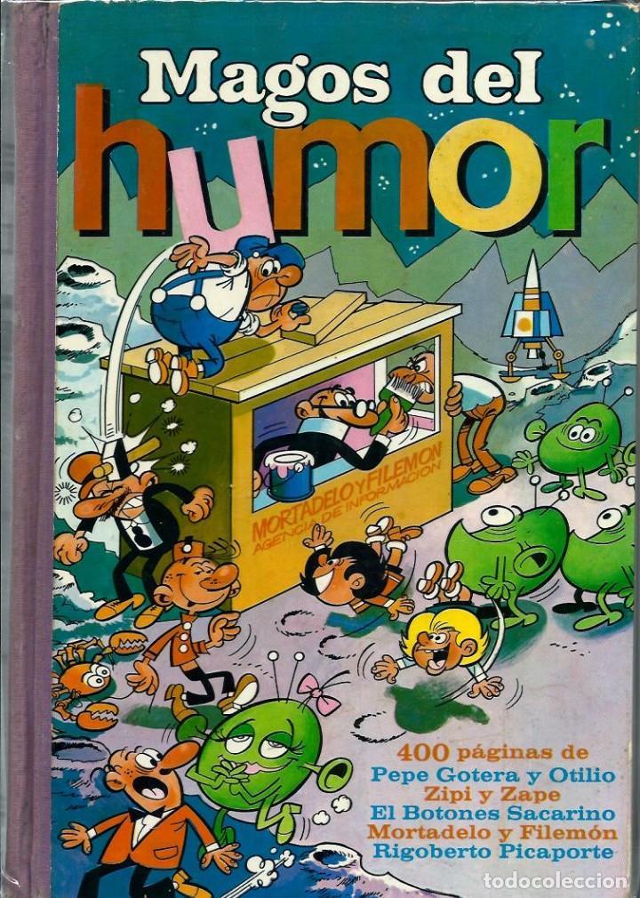 Tebeos: MAGOS DEL HUMOR - TOMOS I A XXI COLECCION COMPLETA - BRUGUERA 1971-75 EN EXCELENTE ESTADO - UNA JOYA - Foto 5 - 170982387