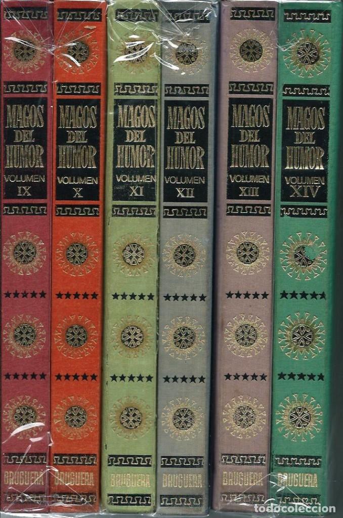 Tebeos: MAGOS DEL HUMOR - TOMOS I A XXI COLECCION COMPLETA - BRUGUERA 1971-75 EN EXCELENTE ESTADO - UNA JOYA - Foto 11 - 170982387