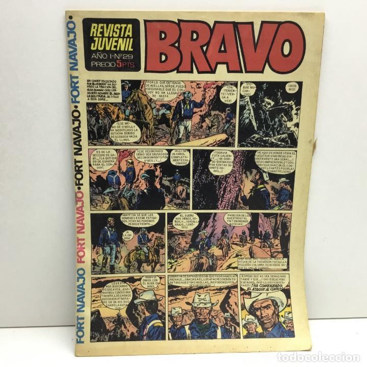 REVISTA JUVENIL BRAVO - BRUGUERA - AÑO I - Nº 29 - PUBLICIDAD COLA CAO (Tebeos y Comics - Bruguera - Bravo)