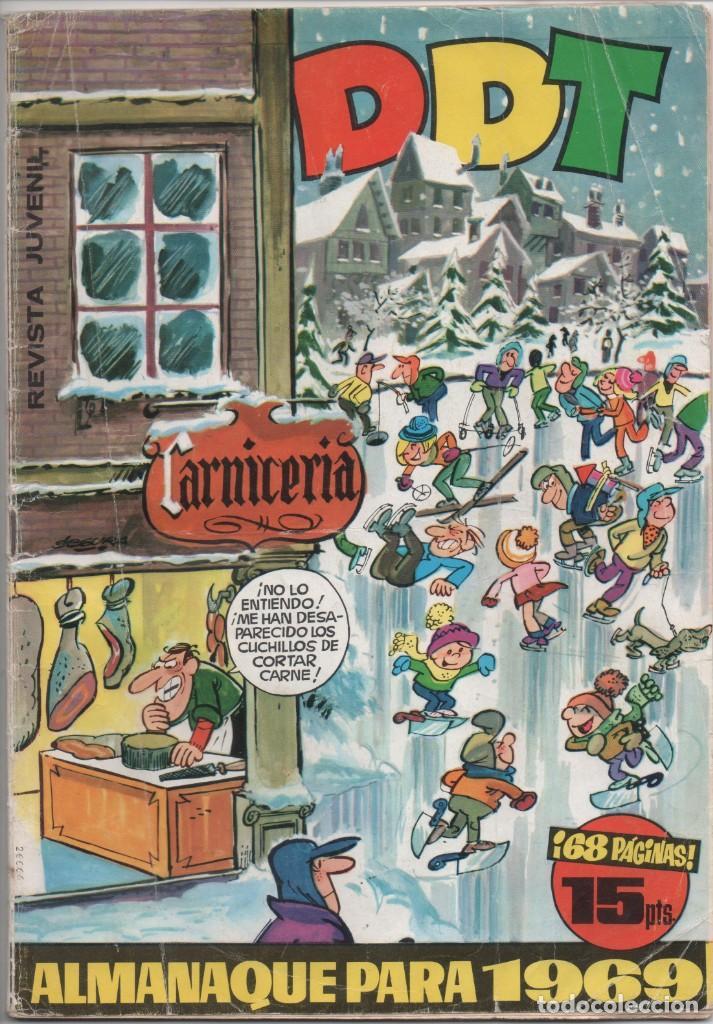DDT - NÚMERO EXTRA DE NAVIDAD 1969 - EDITORIAL BRUGUERA (Tebeos y Comics - Bruguera - DDT)