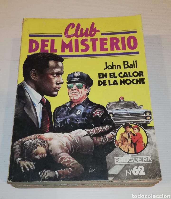 Tebeos: Lote 13 Comics Libros Club del Misterio Bruguera 62 109 115 122 124 125 131 132 137 138 140 141 147 - Foto 2 - 171065764