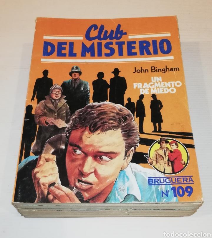 Tebeos: Lote 13 Comics Libros Club del Misterio Bruguera 62 109 115 122 124 125 131 132 137 138 140 141 147 - Foto 3 - 171065764