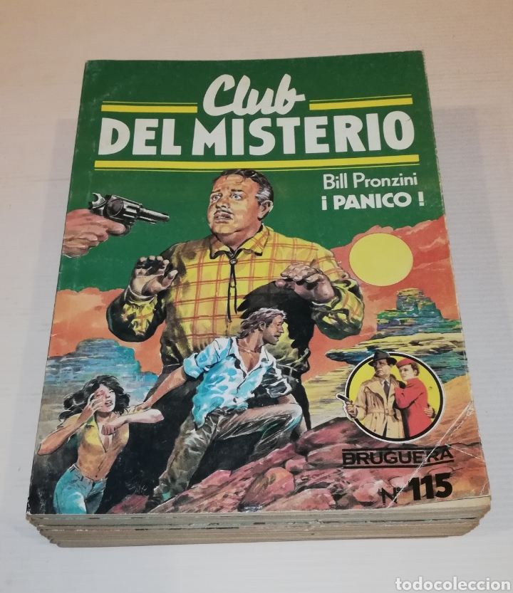 Tebeos: Lote 13 Comics Libros Club del Misterio Bruguera 62 109 115 122 124 125 131 132 137 138 140 141 147 - Foto 4 - 171065764
