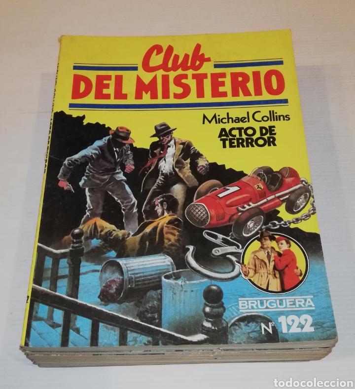 Tebeos: Lote 13 Comics Libros Club del Misterio Bruguera 62 109 115 122 124 125 131 132 137 138 140 141 147 - Foto 5 - 171065764